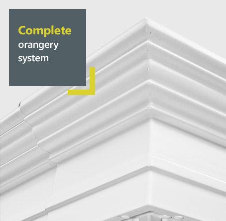 uPVC Global orangery - complete orangery system
