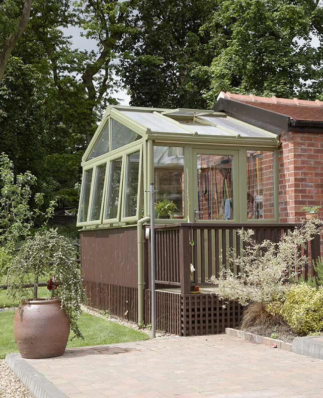 Gable conservatory in Chartwell Green